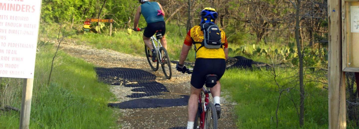 Cedar Hill has over 45 miles of multi-purpose trails