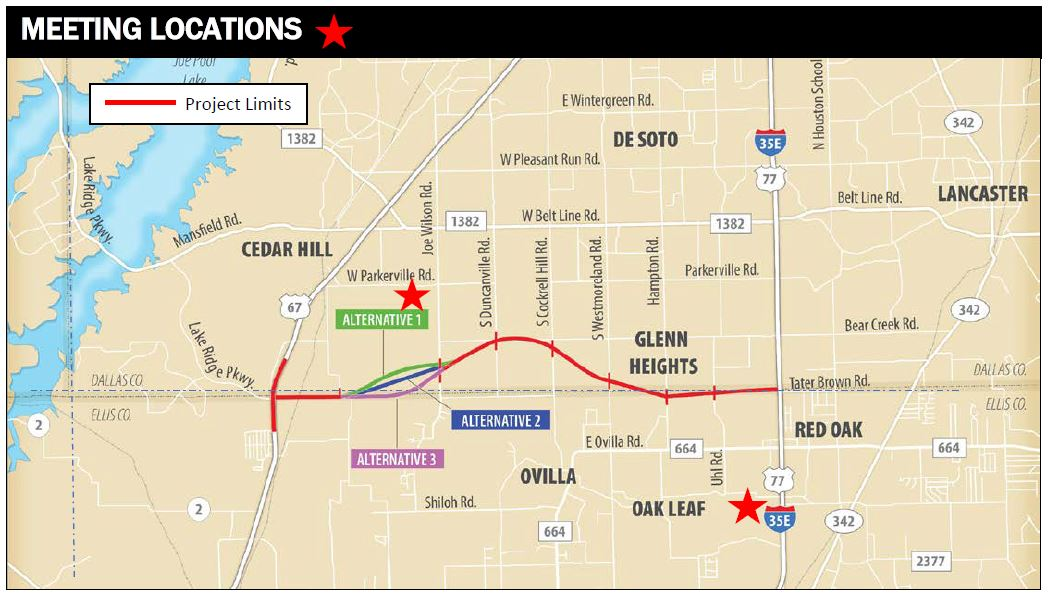 Map Of Texas Highway 77.Public Meetings For The Loop 9 Segment A Project
