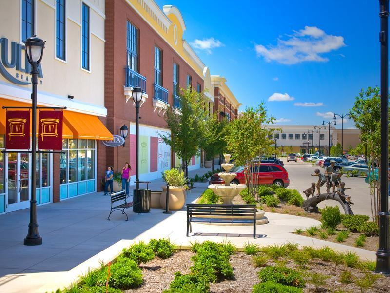 Hillside village is making cedar hill shopping district for retail and entertainment